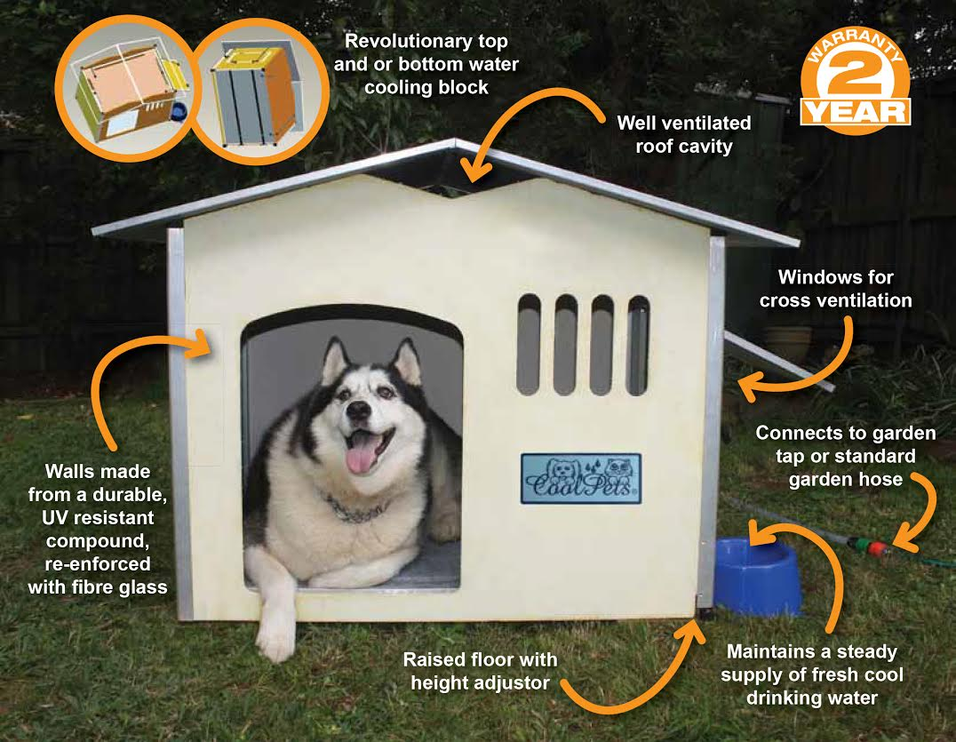 Cooling Dog House