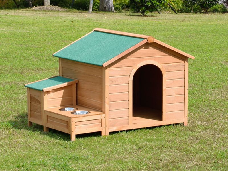 Wooded Large Dog House