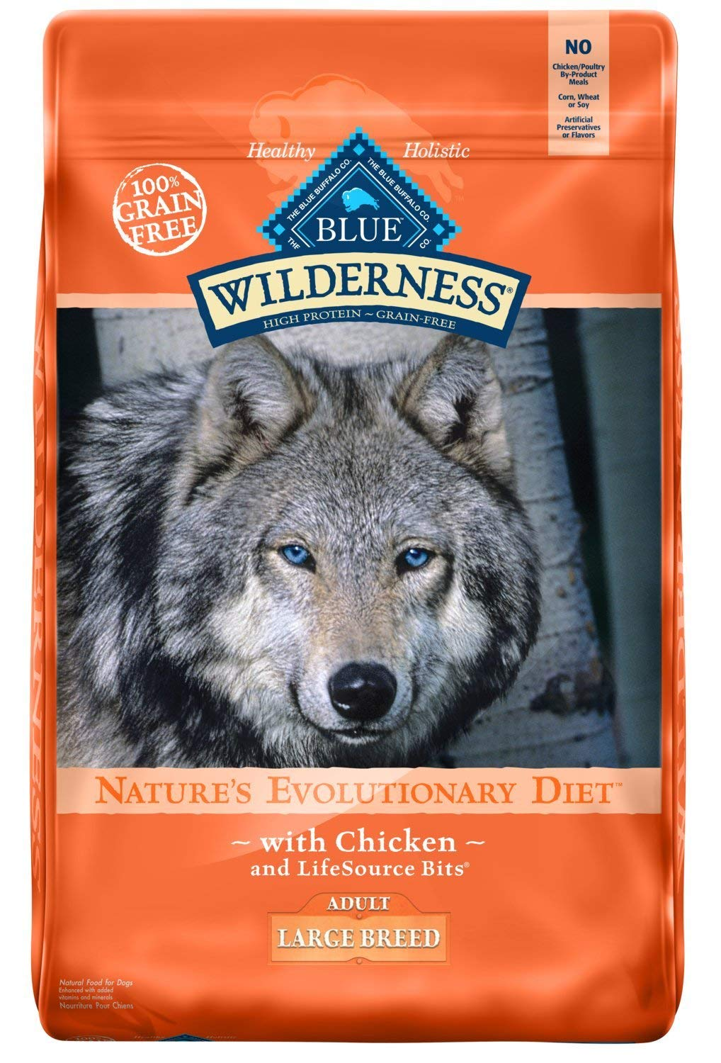 blue buffalo dog food for large breed puppy