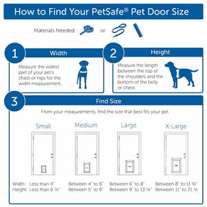 petsafe extra large dog door